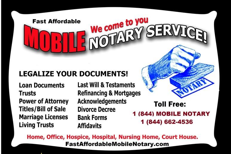Mobile Notary Sarasota Florida Loan Signing Agent